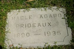 Mable Myrtle <i>Agard</i> Prideaux