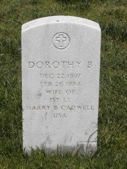 Dorothy <i>Brown</i> Cadwell