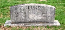 Sadie Virginia <i>Perry</i> Debow