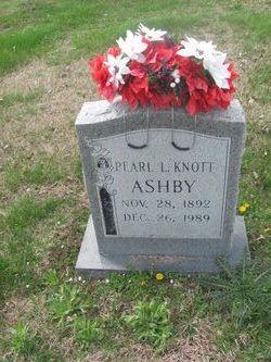 Pearl Lena <i>Knott</i> Condit Ashby