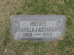 Camilla Josephine <i>Schoenfeld</i> Alexander