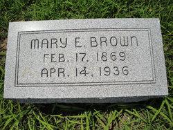 Mary Elizabeth <i>Mullins</i> Brown
