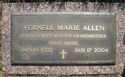 Vernell Marie <i>Pedersen</i> Allen