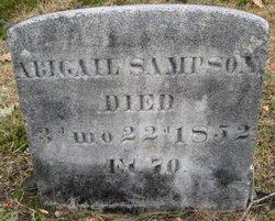 Abigail <i>Wing</i> Sampson