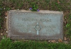 Minerva <i>Arnold</i> Adams