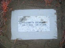 Elizabeth Libbie <i>Nation</i> Cochrane