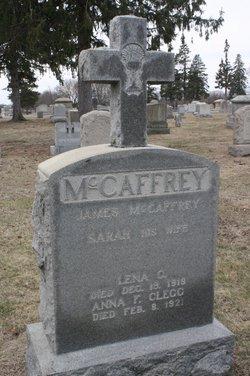 Anna F. <i>McCaffrey</i> Clegg