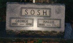 Hallie Mae <i>Basham</i> Sosh