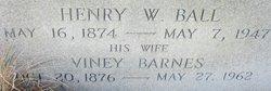 Viney <i>Barnes</i> Ball