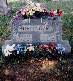 Rebecca Angeline Angie <i>Pruitt</i> Burlingame