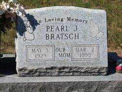 Pearl J <i>Scott</i> Bratsch