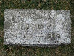 Cornelius M Lambert
