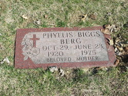 Phyllis <i>Biggs</i> Berg
