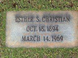 Esther <i>Snyder</i> Christian
