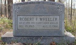 Robert F Wheeler