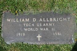 William Daniel Allbright