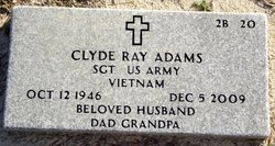 Sgt Clyde Ray Adams