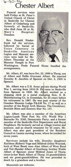 Chester Albert