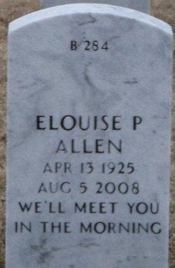 Elouise P Allen