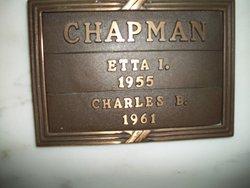 Etta Irene <i>Simpson</i> Chapman