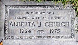 Alberta Juanita Church