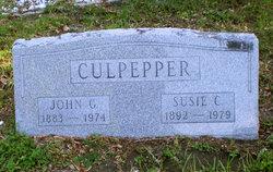 Susie Elizabeth <i>Chason</i> Culpepper