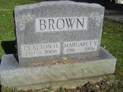 Margaret V. <i>Zaugg</i> Brown