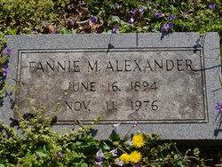 Fannie M. Alexander