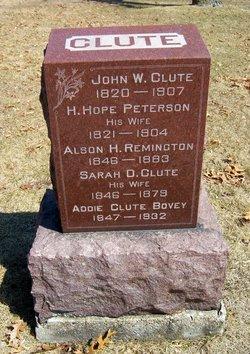 Addie <i>Clute</i> Bovey