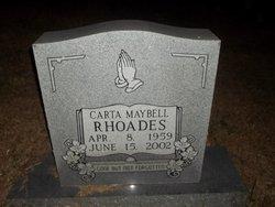 Carta Maybell <i>Pike</i> Rhoades