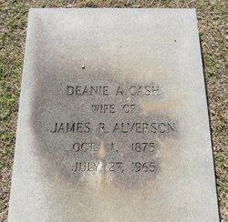 Deanie A. <i>Cash</i> Alverson
