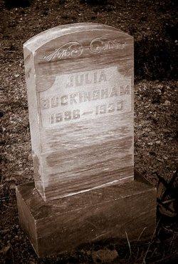 Julia <i>Perez</i> Buckingham