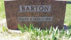 Mary Kathleen Barton