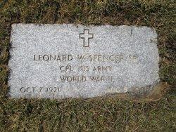 Leonard W Spencer, Sr