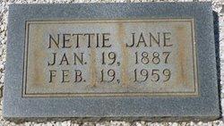 Nettie Jane <i>Broome</i> Baker