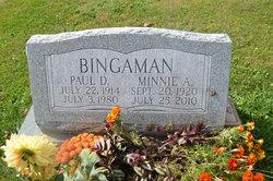 Minnie Alice <i>Eyster</i> Bingaman