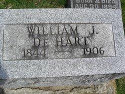 William J DeHart