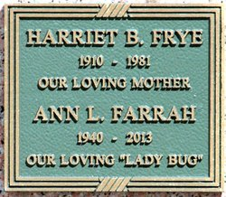 Harriet Bond <i>Barnard</i> Frye