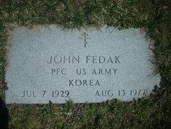 PFC John Fedak