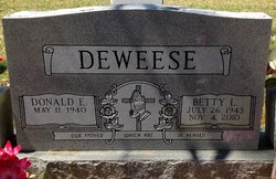 Betty L Deweese