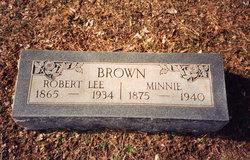 Minnie <i>Wylie</i> Brown