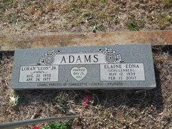 Elaine <i>Schulenberg</i> Adams