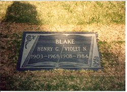 Henry George <i>Buster</i> Blake