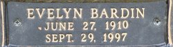 Evelyn <i>Bardin</i> Huffty