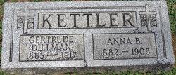 Gertrude Rosina <i>Kettler</i> Dillman