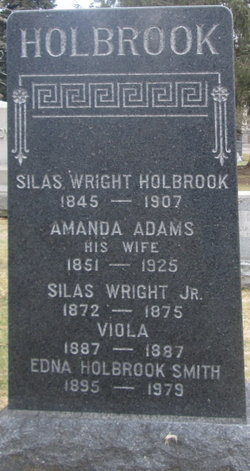 Silas Wright Holbrook, Jr