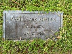 Mamie <i>Carr</i> Bowden