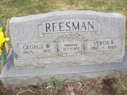 Verda Ruth <i>McGregor</i> Reesman