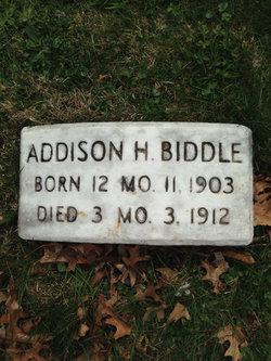 Addison Hutton Biddle