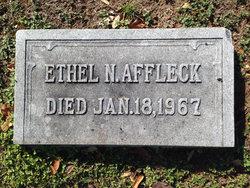 Ethel <i>Newton</i> Affleck